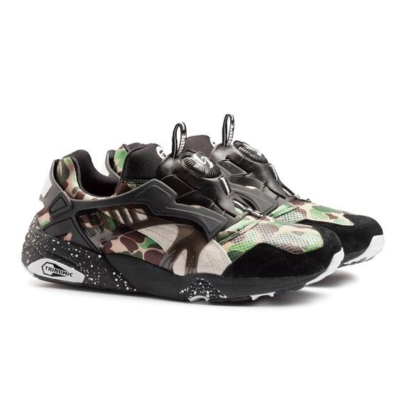 Bape Shoes   Bape X Puma Disc Blaze